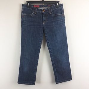 AG Adriano Goldschmied Capris Crop Jeans 29R
